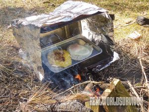 reflector oven, diy reflector oven, makeshift reflector oven, diy