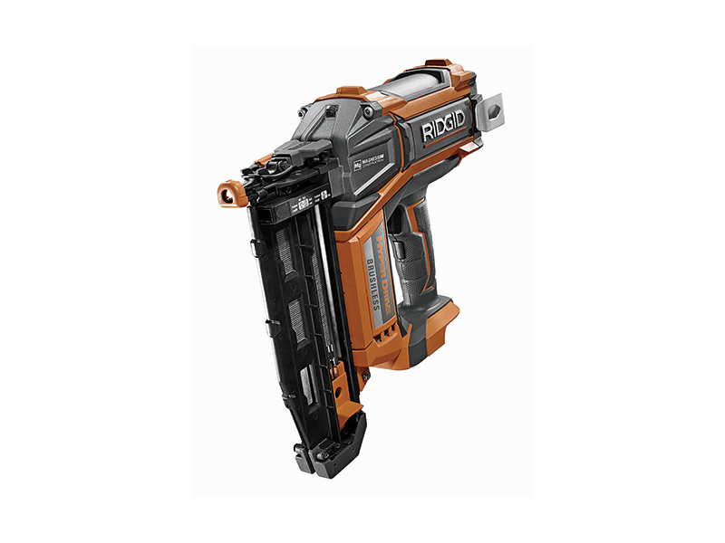 DIY, homestead, diy projects, tools, Rigid 18 V Hyperdrive Brushless Finish Nailer