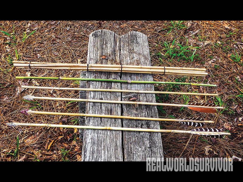 How To Craft Your Own Longbow & Arrows