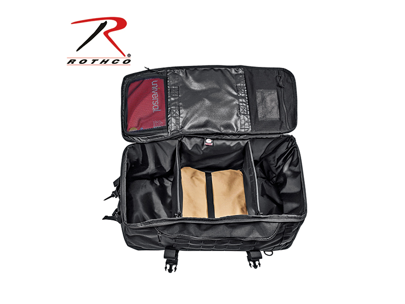 Rothco 3-in-1 Mission Survival Pack open