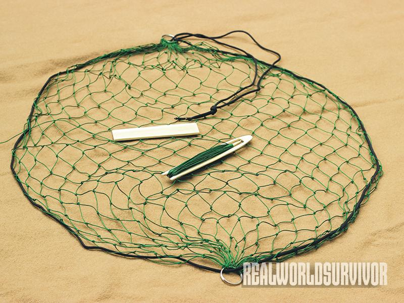pocket net, survival net, diy net