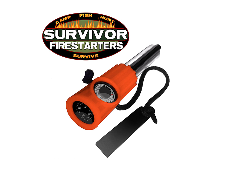 Survivor Firestarters, SHOT Show 2016, off the grid gear