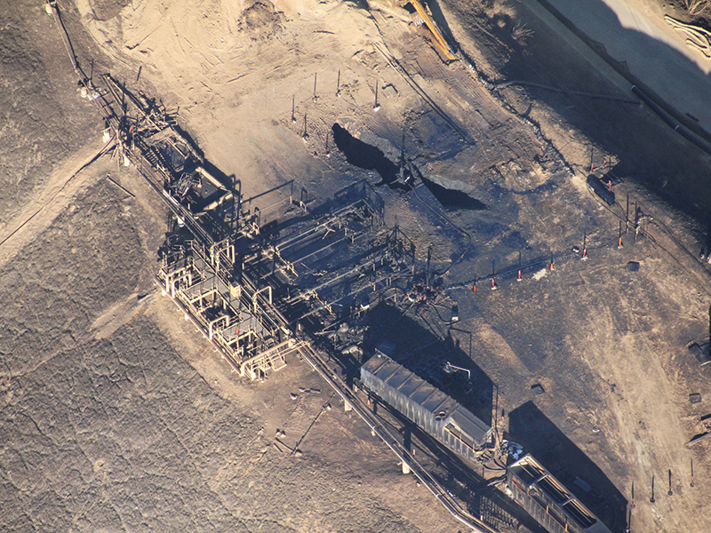California, gas leak, methane leak, Aliso Canyon