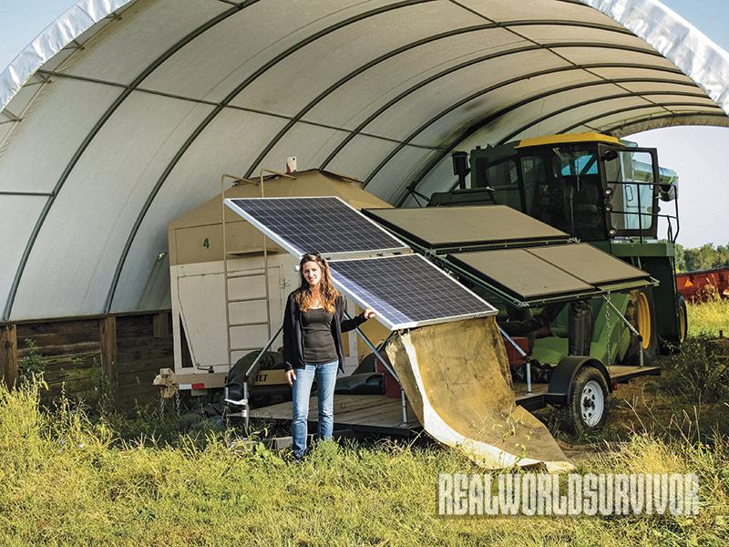 Farm Hack, solar panels
