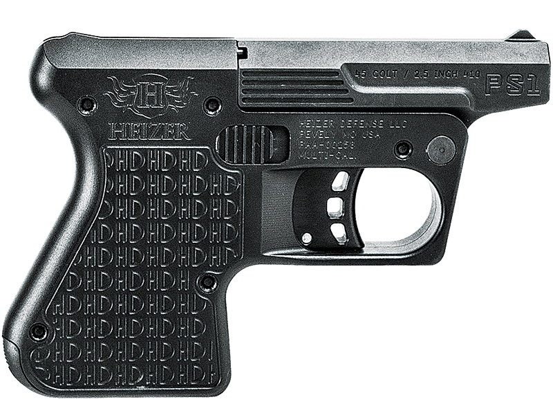 Backcountry Pocket Pistols Heizer Defense PS1 Pocket Shotgun