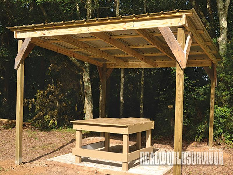 10 Steps To Building A Shooting Shed