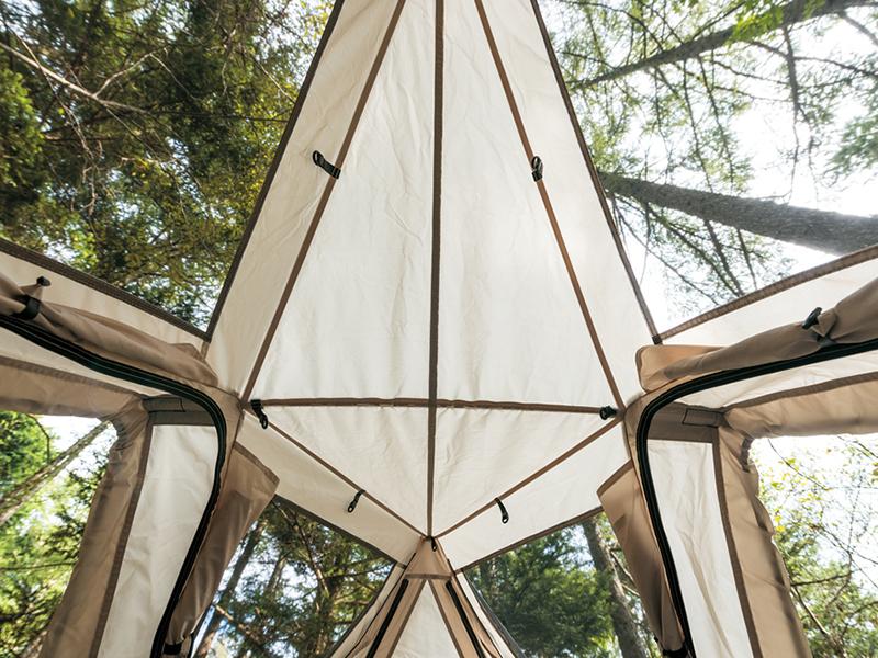 camping, camping gear, hammock, Sky Nest, Snow Peak, tent