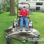 Sean Mallory landscaping, lawn mower, tractors, mowers, lawn
