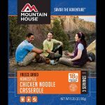 mountain house chicken noodle freeze-dried food