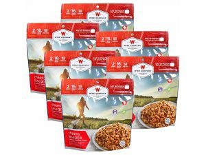 wise company freeze-dried food items