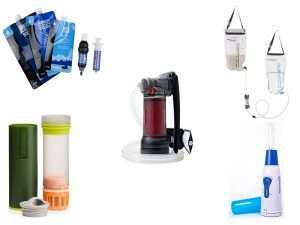 5 water filtration systems