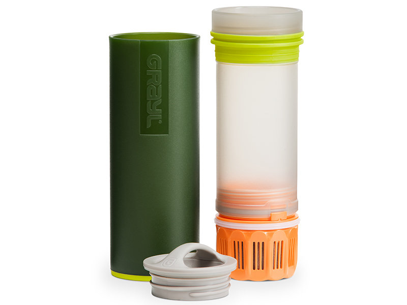 Grayl Ultralights water filtration system