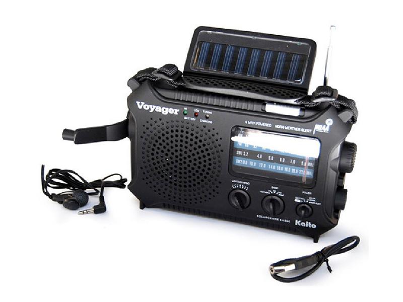 Kaito KA500 Voyager Emergency Radios