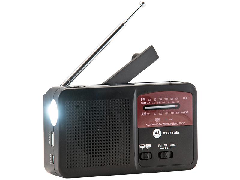 Motorola MWR800 Portable Weather Alert emergency radios