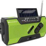 Running Snail MD-090 Multifunctional Solar Crank emergency radios