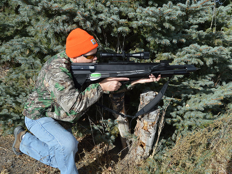 Crosman's Benjamin Pioneer Airbow Takes Hunting to a New Level