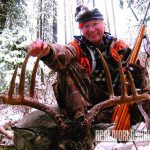 cody carr hunting adventures holding antlers
