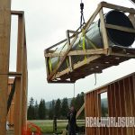 cody carr hunting lodge construction