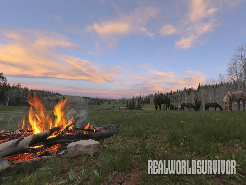 fire piston campfire