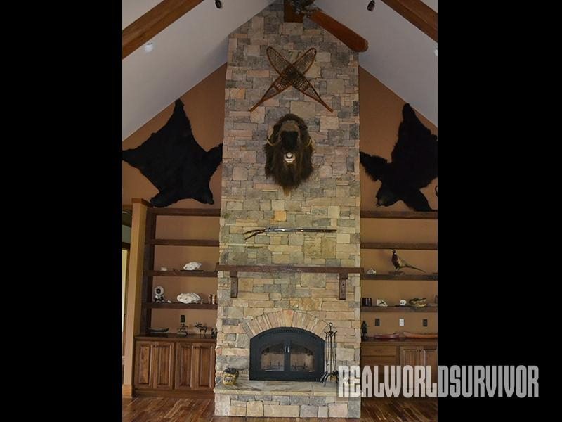 safe house fireplace
