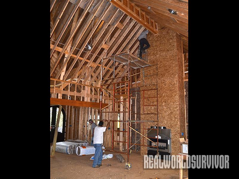 safe house ceilings