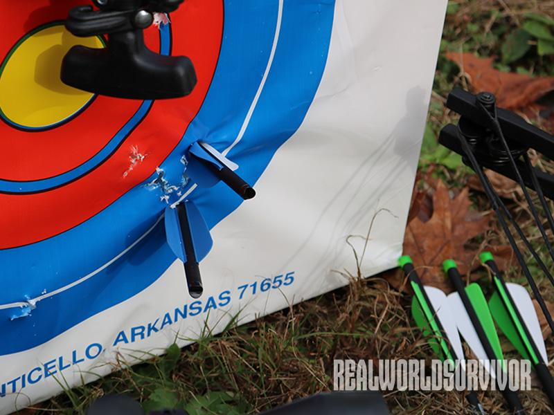 Carbon Express X-Force 350 Crossbow target