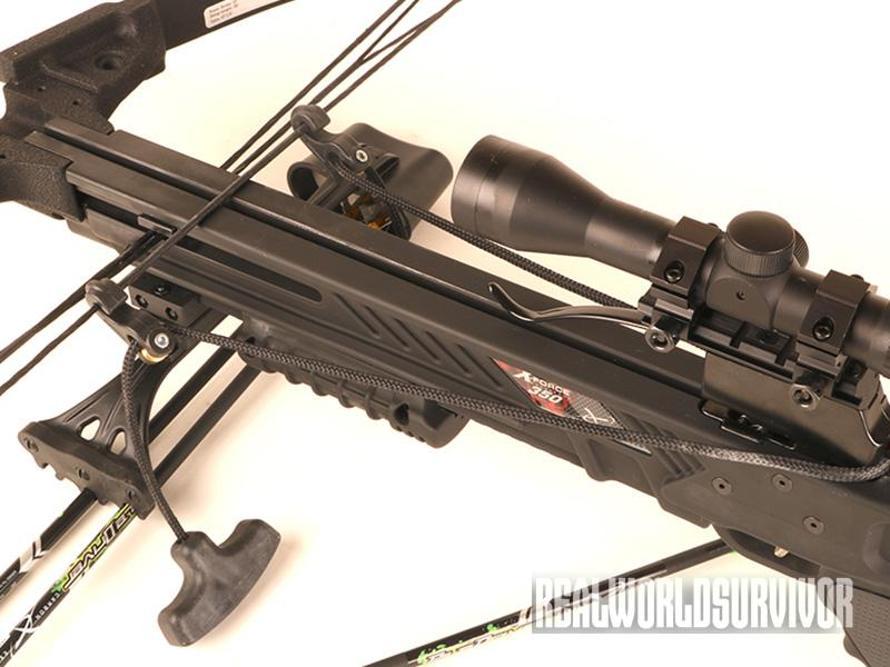 Carbon Express X-Force 350 Crossbow cocking device