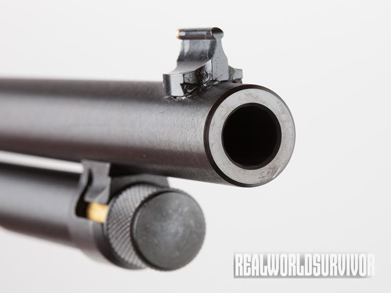 Henry Big Boy Steel Carbine muzzle
