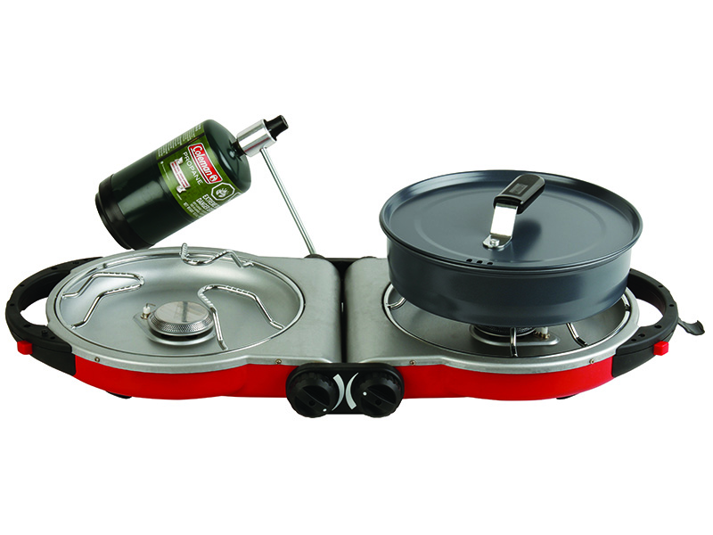 Coleman Fold N Go Propane Grill camp stove