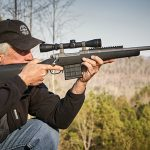 Ruger Gunsite Scout Rifle aiming