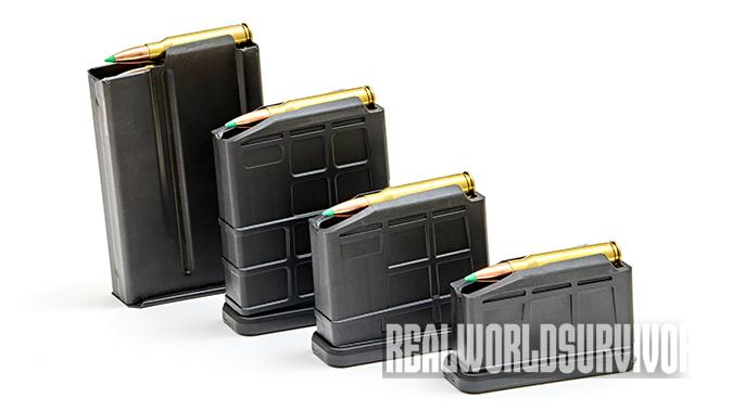 Ruger Gunsite Scout Rifle magazines