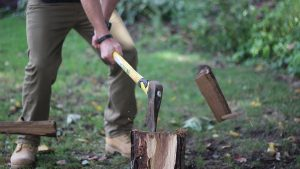Building Emergency Firewood Supply survival
