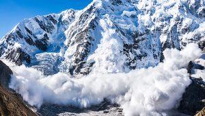 avalanche snowfall