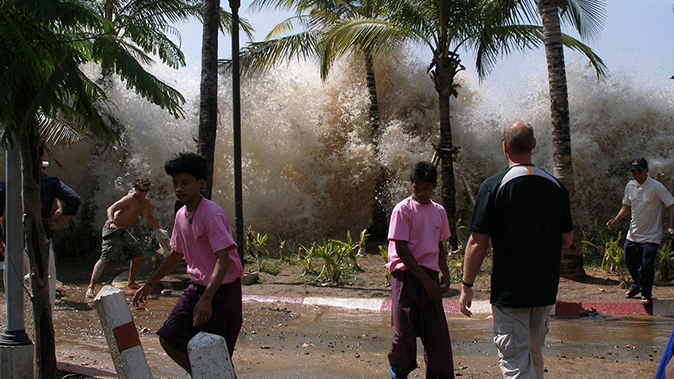 natural disasters tsunami