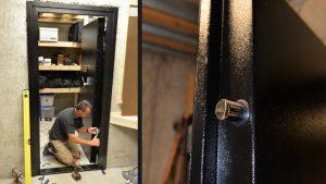 installing vault door hornady snap safe 2