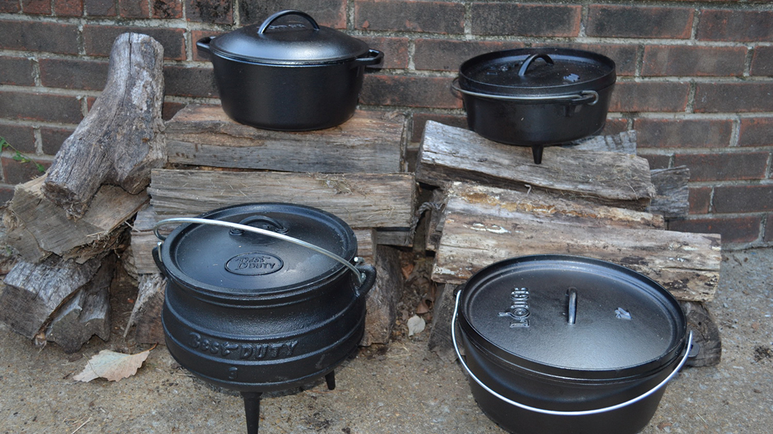 Dutch oven, cooking, sizes