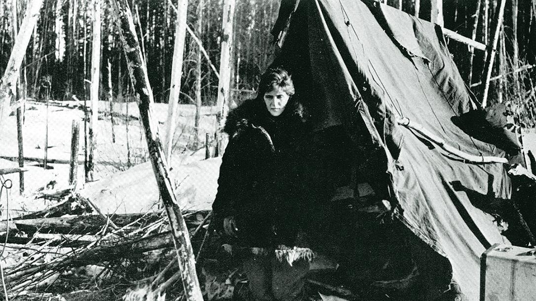 Klaben, Yukon, plane crash, tent