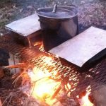 Fire, syrup, outdoors, boil