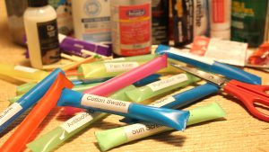 straw labels contents
