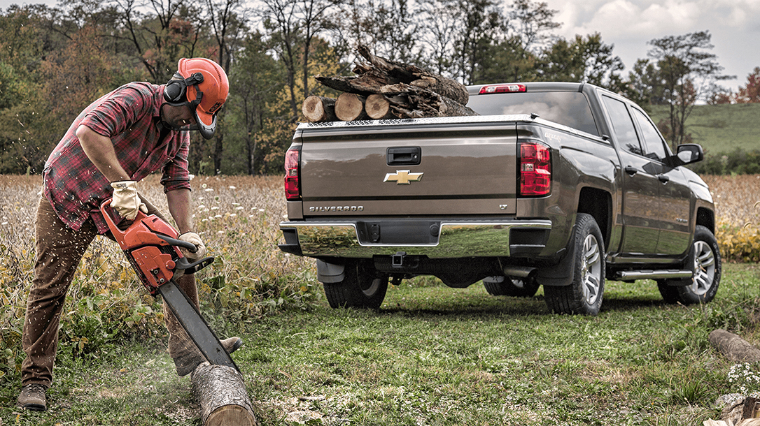 Tonneau Cover Truck chainsaw lead
