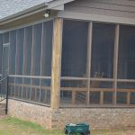 Safe Home large screened porch for sleeping