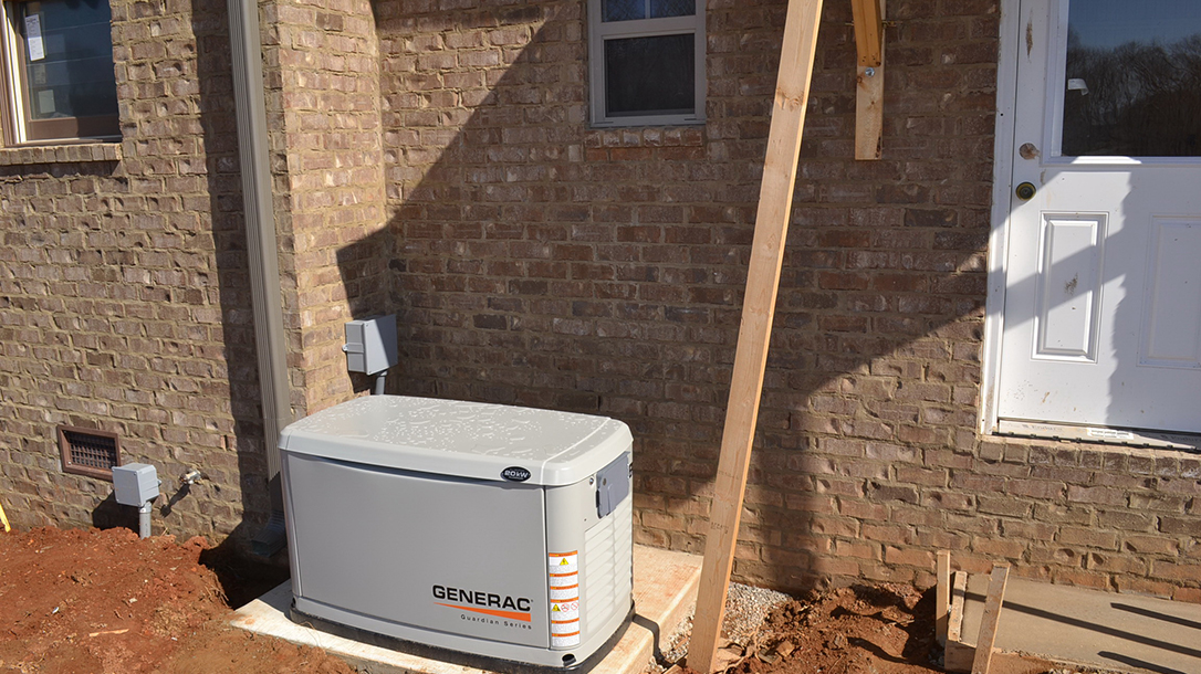Safe Home generator backup for when the power goes out