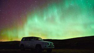 EMP strike solar storm Aurora Borealis