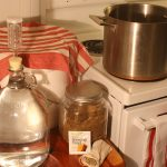 Homebrewing Made Easy ingredients and tools for one gallon of beer