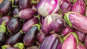 Superior Summer Veggies eggplants