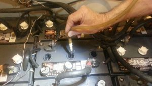 watering batteries maintenance