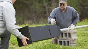 Bat Box: Outer Shell, vent slots