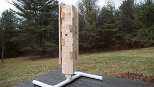 Bat Box: A Look Inside, spacers, shell boards