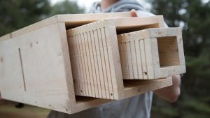 Bat Box: Roosting Chambers, outer shell