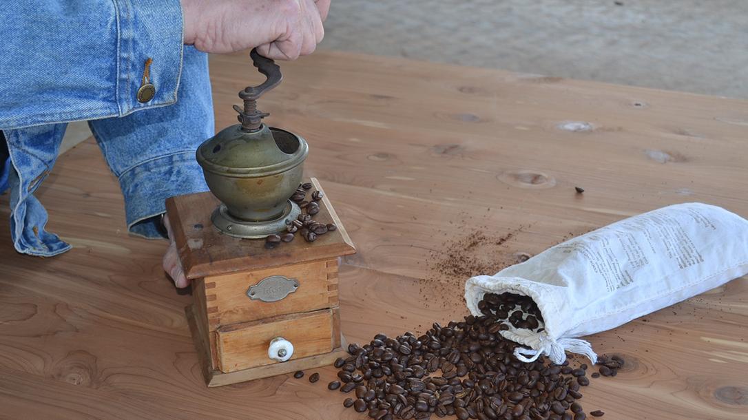 Cowboy Coffee coffee grinder